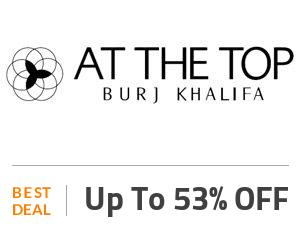 Burj Khalifa Deal: Burj Khalifa Tickets: Up to 53% OFF + Cafe Treat Off