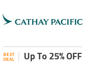 Cathay Pacific Deal: Up to 25% OFF On Restaurants in Hong Kong Off