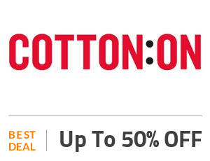Cotton On Deal: Up to 50% OFF On Travel Accessories Off