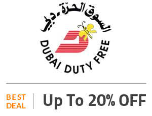 Dubai Duty Free Deal: Get Flat 20% OFF On Sitewide Offers Off