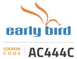 EarlyBird Coupon Code: AC444C