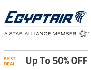 EgyptAir Deal: Save Up to 50% on Business Class Off
