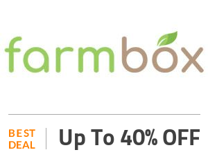 FarmBox Deal: Shop & Get Up to 40% OFF On All Fruits Orders Off