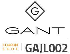 Gant Coupon Code: GAJL002