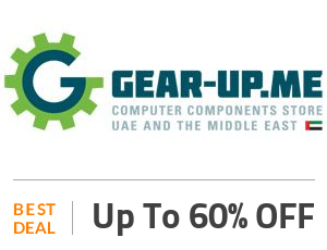 Gear-up Deal: Get Up to 60% OFF Off