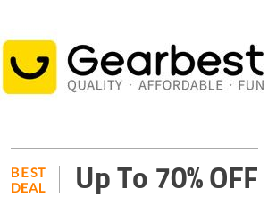 Gearbest Deal: Enjoy Up to 70% on Gearbest Super Deals Off