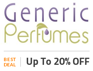 Generic Perfumes Deal: Up to 20% OFF On Generic Perfume Oils Off
