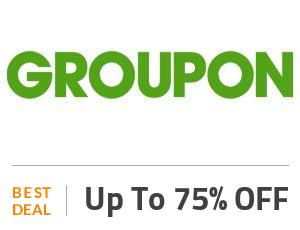 Groupon Deal: Weekend Deal: 75% OFF Restaurants, Spas, Amusement Parks & more! Off