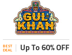 GUL KHAN Deal: Up to 60% OFF On Handmade Uniqe Wall Clock Off