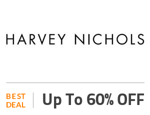 Harvey Nichols Deal: Up to 60% OFF Off
