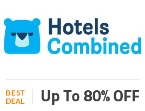 HotelsCombined Deal: Up to 80% OFF on Hotel Bookings Off