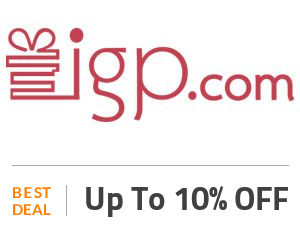 IGP Deal: Get 10% OFF on Selected Items Off