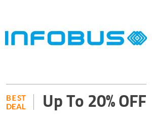 Infobus Deal: Get 20% OFF Your Booking Off