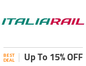 Italiarail Deal: Get 15% OFF on All Booking Off