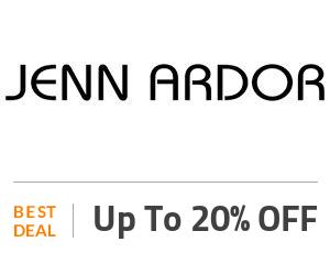 Jenn Ardor Deal: Sign UP & Get Up to 20% OFF Off