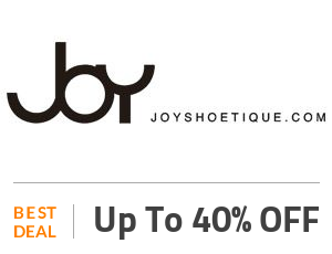 Joyshoetique Deal: Mid-Year Sale: Buy 3 Get 4th 40% OFF Off