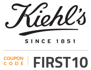 Kiehls Coupon Code: FIRST10