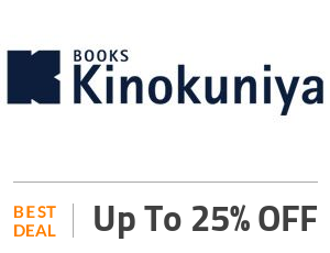 kinokuniya Deal: Up to 25% OFF with Clearance Sale + Free Shipping Off