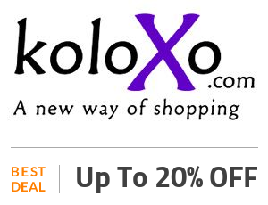 Koloxo Deal: Up to 20% Off on Selected Products Off