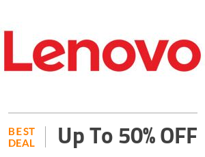 Lenovo Deal: Save Up to 50% on Electronics & Accessories Off