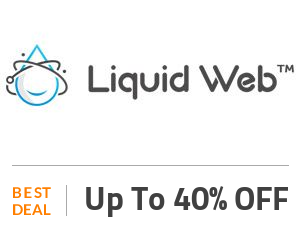 Liquid Web Deal: Up to 40% off on 3 Months of All Products Off