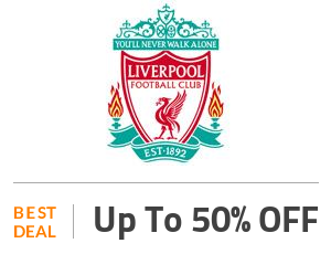 Liverpool Deal: Up to 50% OFF On All Collections Off
