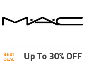 MAC Deal: Up to 30% OFF On Beauty Off