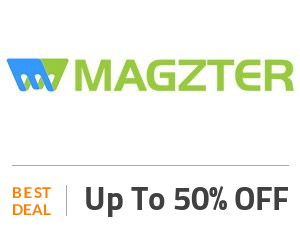 MAGZTER Deal: Get 50% Discount on Year Plan Off