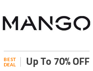Mango Deal: Get Up to 70% Off on Mango Men Collection Off