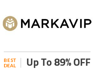 MarkaVIP Deal: Up to 89% OFF On Apparel & Accessories Off