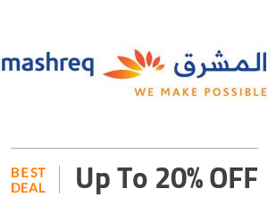 Mashreq Bank Deal: Up to 20% OFF flights, hotels & activities with Mashreq Card Off