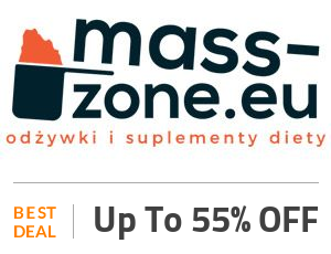 mass-zone Deal: Save Up to 55% On Supplements and Vitamins Off