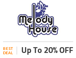 Melody House Deal: Limited Time! 20% OFF Site Wide Off