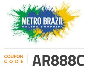 Metro Brazil Coupon Code: AR888C