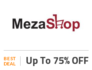Mezashop Deal: Get Up to 75% OFF On Everything Off
