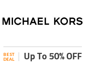 Michael kors Deal: Up to 50% OFF On Luxury Michael Kors Shoes & Bags Off