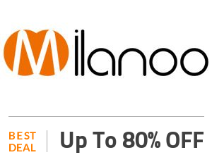 Milanoo Deal: Enjoy Up to 80% OFF SiteWide Off