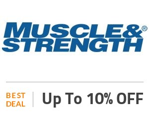 MuscleAndStrength Deal: Summer Sale: Save Up to 10% On Selected Products Off