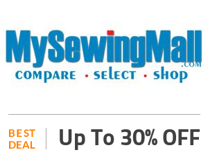 My Sewing Mall Deal: Get Up To 30% Sitewide + Free Shipping Off