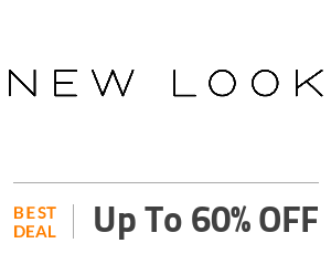 New Look Deal: Special Sale: Up to 60% OFF On Selected Products For Women Off