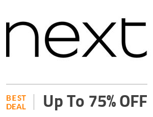 Next Deal: Next Sale: Up to 75% Off Off