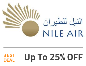 Nile Air Deal: Flat 25% OFF On Flight Tickets From Cairo To Al Ain Off