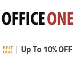 Office One Deal: Enjoy Up to 10% OFF On Selected Products Off