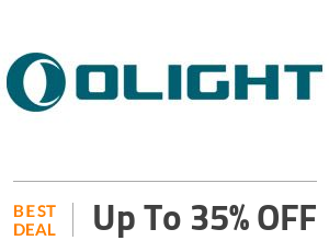 Olightstore Deal: OLight Offer: Get Up to 35% OFF Selected Items Off