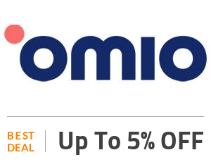 Omio Deal: Save 5% of Any Booking Off