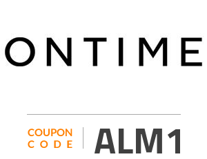 ONTIME Coupon Code: ALM1