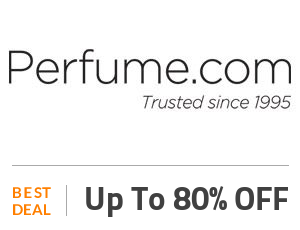 Perfume Deal: Up to 80% OFF On Sitewide Collection Off
