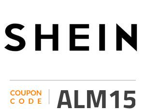 Shein Coupon Code: ALM15