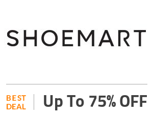 Shoe Mart Deal: Get Up to 75% Discount SiteWide Off