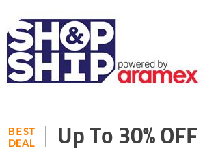 Shop and Ship Deal: Up to 30% Off With FLEX Membership Off